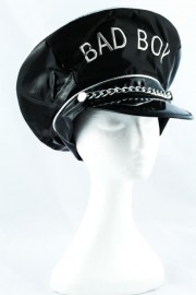 Lack Mütze Bad Boy schwarz