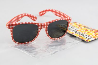 Party Brille rot