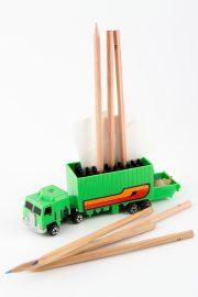 Truck Stiftehalter 15x6cm