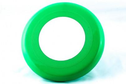 Frisbee Scheibe grün/weiß