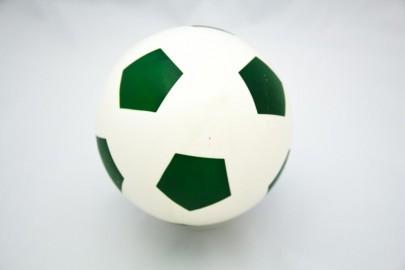 Bälle grün/weiß 26cm