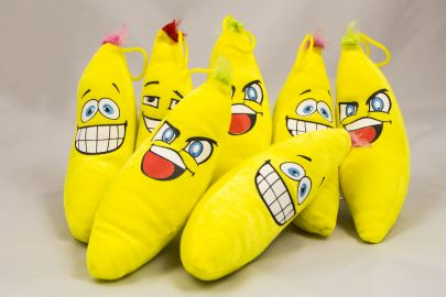 Plüsch Bananen 20cm