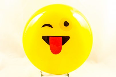Plastikball 26cm Emojy