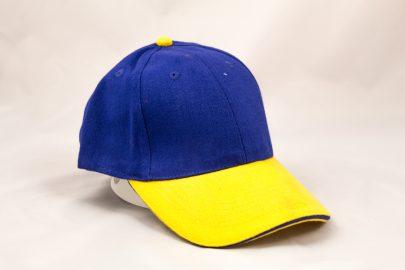 Cap blau/gelb