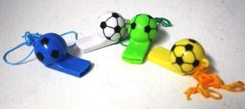 Fußball Trillerpfeife