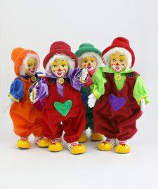 Clowns mit Latzhose